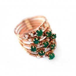 14K_Emerald-Seed_Pearl_Ring_1